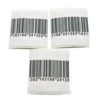 China RF Small Square Garment Electronic Shelf Mini Hammer Tag / Durable Barcode Labels wholesale