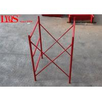 China High Strength Acrow H Frame Scaffolding For Concrete Floor Shoring wholesale