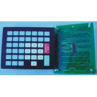 China OEM PCB Mounted Keyboard Membrane Switch , Waterproof Rubber Keypad Switch on sale