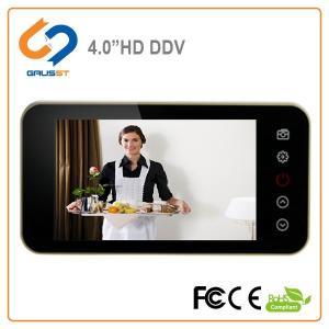 China Easy Install Smart Digital Door Viewer / Electronic Door Peephole With Door Bell on sale