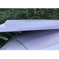 China Lightweight Expanded PVC Foam Board 0.45g / Cm3 Density For Wall Cladding Partitions on sale