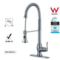 Quality Sanitary Ware Singe Handle kitchen Faucet with Pull out Tap ODM / OEM for sale