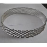 China 304 Stainless Steel Wire Expanded Mesh Circle As Filter , Metal Mesh Type wholesale