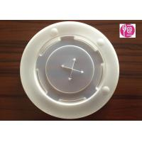China 12oz Transparent Cold Cup Lid Diameter 90mm / 2.0g In PS Material wholesale
