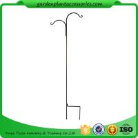 China Tall Garden Plant Accessories 48 Inch Double Shepherd'S Hook Plant Hanger wholesale