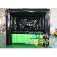 China Waterproof Safe Inflatable Sports Games Hover Ball Dart Board PVC Vinyl Tarpaulin wholesale