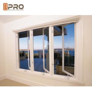 China Water - Proof Aluminium Flush Casement Windows Powder Coating Thickness 1.0-2.0mm modern casement windows on sale
