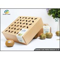 China Coated Paper Corrugated Packaging Box for Fruit and Vegetable wholesale