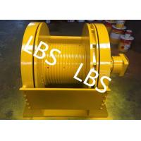 China Low Noise 5 Ton 6 Ton 8 Ton Hydraulic Crane Winch With Lebus Sleeves wholesale