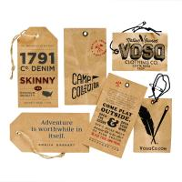 Buy cheap custom printable brown kraft paper gift tags present tag parcel tags favor tags from wholesalers
