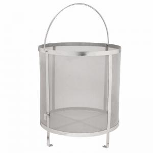 Home Brew 400micron Stainless Steel Mesh Filter Baskets 31*29cm