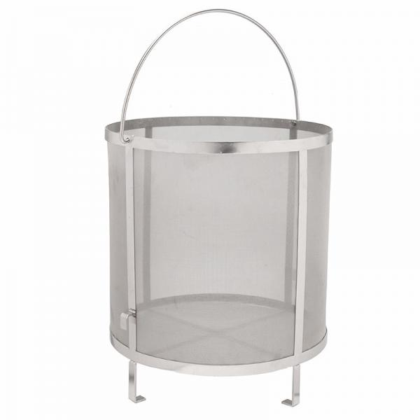 Quality Home Brew 400micron Stainless Steel Mesh Filter Baskets 31*29cm for sale