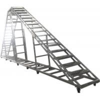 China Splice / Burliness Aluminum Walking Stair , Portable Stage Platform For Art House wholesale