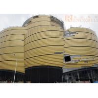 Quality Golden Aluminum  Panels For Architecture/Special Decoration Need for sale