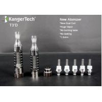 China Kanger newest Botom Dual Coil Clearomizer T3D clearomizer Best Price wholesale