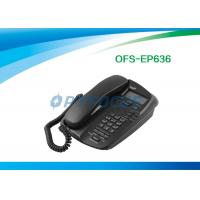China Two Ports RJ-45 SIP Conference Phone POE 10 / 100BASE-T Ethernet Connection wholesale