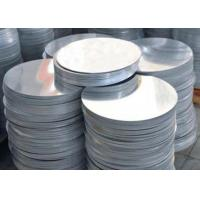China Pizza Pan Round Aluminum Discs Blank Natural Color With 200 Mm Diameter on sale