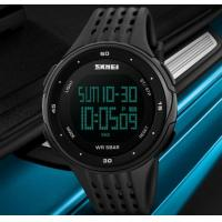 China SKMEI 1219 PC + PU Band Digital Men Watch for Outdoor Sport wholesale