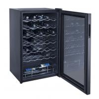 China 34 Bottles 98L Wine Cooler Single Zone (compressor Wine Cellar) wholesale