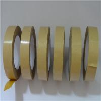 China Yellow Reinforced Paper Packing Tape Heat Resistant Fit Sealing  Packaging wholesale