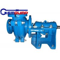 China 50B-L Low Abrasive Centrifugal Slurry Pump horizontal double shell axial suction wholesale