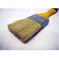 Quality Multifunctional White Bristle Flat Paint Brush For Surface Painting / Cleaning for sale