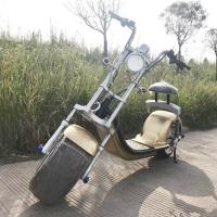 China 60v 12ah Lithium Battery Scooter , Battery Razor Scooter 1000w Brushless Hub Motor For Adults on sale