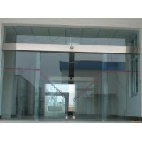 China Double Exterior Frameless Automatic Glass Door Soundproof For Hospital wholesale