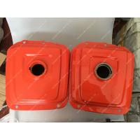 China Diesel Engine fuel tank Kubota Engine Parts iron material red color wholesale