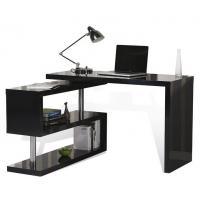 China Adjustable Height Office Table , T Corner L Shaped Computer Desk With Drawers wholesale