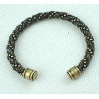 China Unisex Jewelry Yiwu Market Chain & Link Bronze Cuff Bracelet 38g for Party OEM wholesale