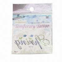 China Water Transfer Tattoo Stickers, Easy to Apply and Remove, Customized Designs are Accepted wholesale