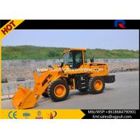 China 42kw Power Mini Wheel Loaders , Micro Loader Truck Loading Bucket Capacity 0.65m3 wholesale
