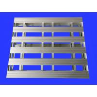 China Heavy Duty Aluminum Pallets For Workshop / Supermarket 4-Way Entry Type wholesale