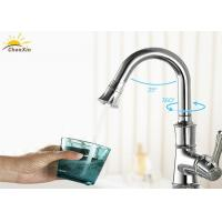 China Precise Plating Bathroom Shower Faucets Acid Resistant With PPS Inner Water Pipe wholesale
