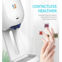 China ABS FCC 1100ml Contactless Liquid Hand Sanitizer wholesale