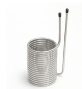 """China 6"""" Stainless Steel Coaxial Heat Exchanger Square Head  Corrosion Resistance wholesale"""