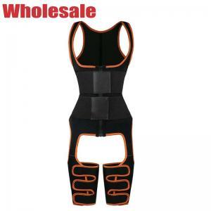 China Womens 3XS Full Body Waist Cincher Leather Belt Thigh Trimmer Leg Shaper wholesale