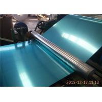 China Decoration 1100 Series Aluminum Sheet 3mm Aluminium Sheet With Blue Pvc Film wholesale