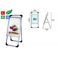 China Single Sided Trade Show Displays LED Poster Display Aluminum Structure For Free Standing wholesale