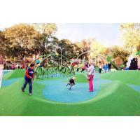 China Custom Playground Rubber Flooring , Environment Friendly Rubber Granules For Playground wholesale
