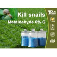 Quality 108-62-3 Metaldehyde 6% G Pesticides For Agriculture Control Of Slugs And Snails for sale