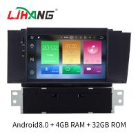 China Double Din Android 8.0 Citroen Car Stereo Player AM FM Radio For Citroen C4L on sale