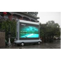 Quality DIP P10 Outdoor Truck Mobile LED Display Panel / Billboard For Advertising for sale