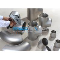China UNS S2507 Pipe Fittings , Elbows For Connection Pipes , Duplex Steel Fitting wholesale