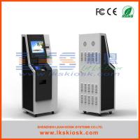 China Intelligent Cash Payment Kiosk Charge Self  Services Windows 7 wholesale