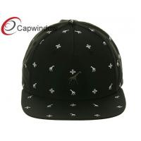 China All Over White Future Printing Patterns Leisure Snapback Baseball Caps for Unisex wholesale
