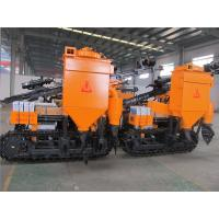 China Portable mine drilling rig machine for rock hardness with two independent gear pump wholesale
