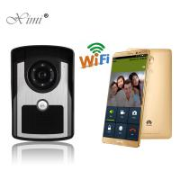 China High Solution Stable Remote Control WIFI Wireless Video Door Bell Internet Video Door Phone With Free APP on sale