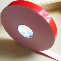 China Two sided adhesive tape coated strong acrylic glue with PE foam backing material wholesale